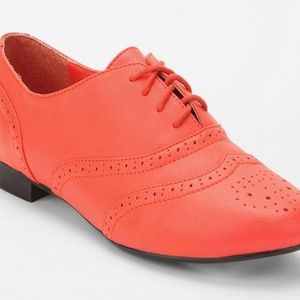 Tears of David Bowie Wingtip Pleather Oxfords